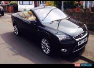 2007 Ford Focus 2.0 tdci 6 speed convertible for Sale