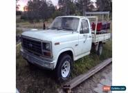 F100 Truck V8 Windsor Auto 1985 Rhd Has Rust As Is Not Running for Sale
