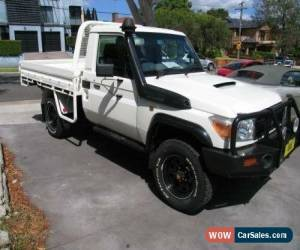 Classic 2013 Toyota Landcruiser VDJ79R MY12 Update GX (4x4) White Manual 5sp M for Sale