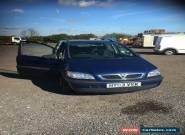 2003 VAUXHALL ZAFIRA DESIGN 16V AUTO BLUE for Sale