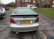 2002/52 MERCEDES C220 CDI AUTOMATIC 3 DOOR COUPE for Sale