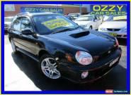 2001 Subaru Impreza MY02 WRX (AWD) Black Automatic 4sp A Hatchback for Sale