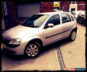 Classic 2003 VAUXHALL CORSA SXI 16V SILVER for Sale