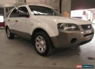 2005 Ford Territory SX TX RWD White Automatic 4sp A Wagon for Sale