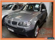 2004 BMW X3 E83 3.0I Grey Automatic 5sp A Wagon for Sale