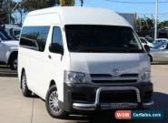 2007 Toyota Hiace TRH223R MY07 Upgrade Commuter White Automatic 4sp A Bus for Sale