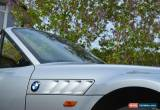 Classic BMW Z3 1998 1.9 - EXCELLENT CONDITION - SILVER WITH BLACK LEATHER for Sale