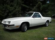 1984 Dodge Rampage for Sale