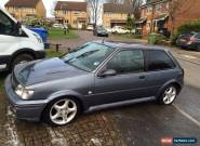 Ford Fiesta S 1.6 RS Turbo Body Kit Petrol Manual Metallic Grey See Description for Sale