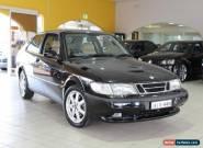 1997 Saab 900 S Talladega Black Manual 5sp M Coupe for Sale
