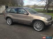 BMW X5 sport manual diesel for Sale
