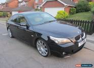2006 BMW 525D M SPORT AUTO BLACK business navigation + Hands free for Sale
