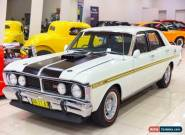 1971 Ford Falcon XY GT White Automatic 3sp A Sedan for Sale