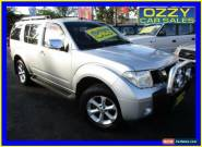 2007 Nissan Pathfinder R51 ST-L (4x4) Silver Automatic 5sp A Wagon for Sale