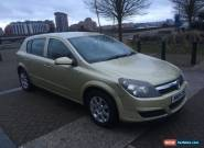 2004 VAUXHALL ASTRA CLUB TWINPORT S-AUTOMATIC 5 DOOR for Sale