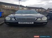 2003 03 MERCEDES-BENZ E CLASS 1.8 E200 KOMPRESSOR ELEGANCE 4D AUTO 181 BHP for Sale
