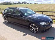 2007 BMW 320D SE TOURING 5DR BLACK for Sale