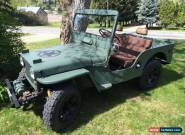 Willys: CJ-3A for Sale