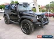 2012 Jeep Wrangler JK MY11 Renegade 70th Anniversary Black Manual 6sp M Hardtop for Sale