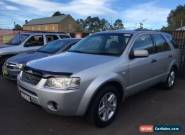 2006 Ford Territory SY Ghia (4x4) Silver Automatic 6sp A Wagon for Sale