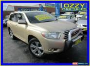 2008 Toyota Kluger GSU45R KX-S (4x4) Champagne Automatic 5sp A Wagon for Sale