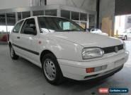 1996 Volkswagen Golf CL White Manual 5sp M Hatchback for Sale