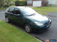 2005 05  FORD FOCUS 1.6 LX AUTO METT GREEN 66000 MILES for Sale
