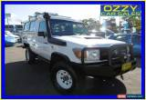 Classic 2007 Toyota Landcruiser VDJ78R Workmate (4x4) 3 Seat White Manual 5sp M for Sale
