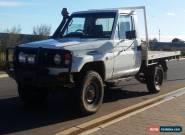 2001 Toyota LandCruiser HZJ79R Ute Traytop Diesel 4x4 LOW KMS 4WD for Sale