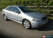 2002 VAUXHALL ASTRA 16V BERTONE GREY FULL MOT EXCELLENT ALLROUND CONDITION CHEAP for Sale