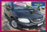 Classic 2003 Chrysler Grand Voyager RG Limited Black Automatic 4sp A Wagon for Sale
