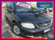 2003 Chrysler Grand Voyager RG Limited Black Automatic 4sp A Wagon for Sale