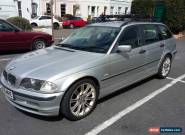 2001 BMW 320 D SE TOURING SILVER for Sale