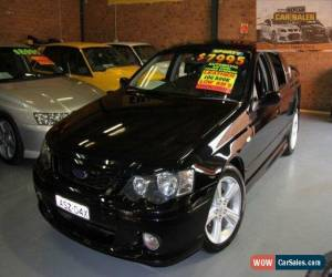 Classic 2004 Ford Falcon BA Mk II XR6 Black Automatic 4sp A Sedan for Sale