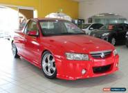 2005 Holden Ute VZ Storm S Red Automatic 4sp A Utility for Sale