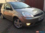 Ford Fiesta 1.4 zetec 2003 Petrol Gold 3 door for Sale