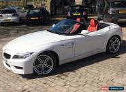 "2014 BMW Z4 2.0 SDRIVE 28i M SPORT CONVERTABLE ROADSTER 19"" ALLOYS ALPINE WHITE  for Sale"
