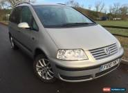 2010 VOLKSWAGEN SHARAN SE TDI 115 AUTO SILVER for Sale