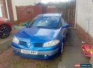 Renault Megane 2003 1.6 16v spares or repairs for Sale