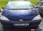 2002 FORD GALAXY ZETEC TDI BLUE for Sale