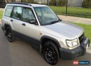 1999 Subaru Forester Limited with REG  & REG Automatic 4sp A Wagon for Sale