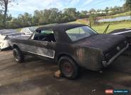 Mustang 1965 Coupe Good Rust Free Body Nostalgia Race Drag Car Classic Hotrod Gt for Sale