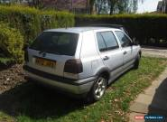 1996 VOLKSWAGEN GOLF SE AUTO SILVER for Sale