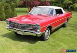 Classic Ford: Galaxie Convertible for Sale