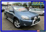 Classic 2008 Toyota RAV4 GSA33R ZR6 Blue Automatic 5sp A Wagon for Sale