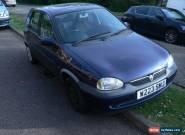 2000 VAUXHALL CORSA 16V BLUE for Sale
