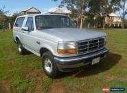 1996 Ford Bronco XLT 5.8 EFI, 4 speed auto, ABS, Cruise, Leather, 4x4, towing for Sale