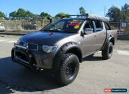 2009 Mitsubishi Triton MN MY10 GLX-R Bronze Manual 5sp M 4D UTILITY for Sale