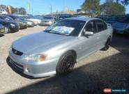 2003 Holden Commodore VY II S Silver Manual 5sp M Sedan for Sale