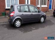 2004 RENAULT SCENIC EXPRESSION 16V SILVER (NO RESERVE) for Sale